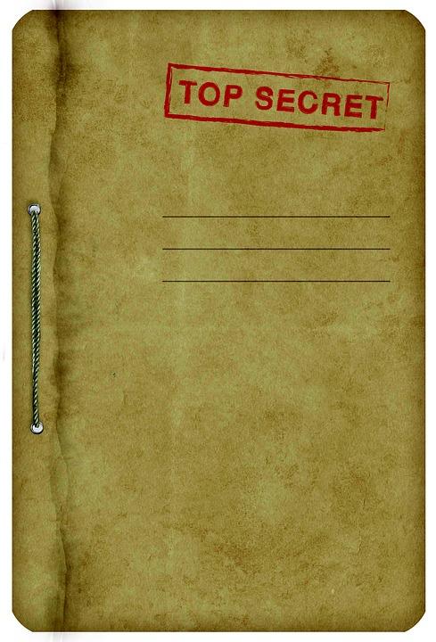top secret book
