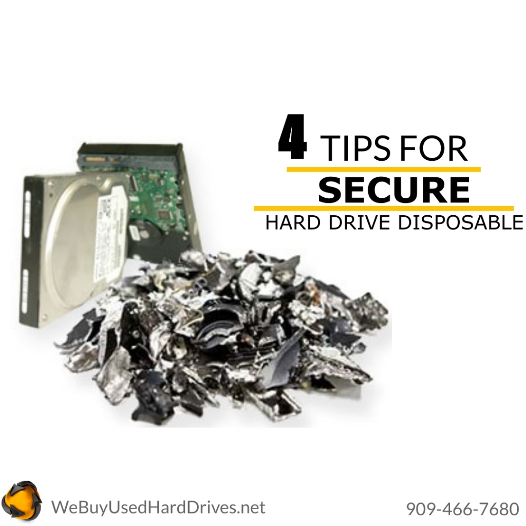secure harddrive disposal
